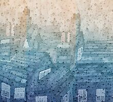 Rainy Day Rooftops by christo65
