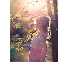 Goodbay summer days Photographic Print