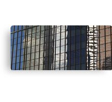 Reflecting on Denver Canvas Print