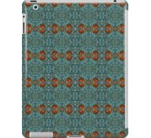 Geometric Blue Pattern iPad Case/Skin