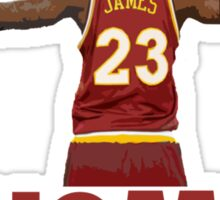 Lebron James - Return of the king Sticker
