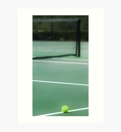 Tennis Any One? Art Print