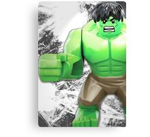 Lego Hulk Canvas Print