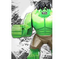 Lego Hulk Photographic Print