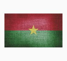 Burkina Faso Flag by Nhan Ngo