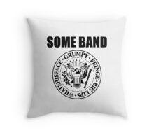 Ramones / Some Band T-shirt Throw Pillow
