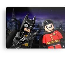 Lego Batman & Robin Metal Print