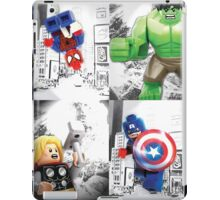 Lego Superheroes!! iPad Case/Skin