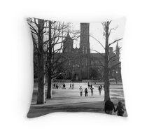 Washington DC in Winter Throw Pillow
