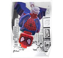 Lego spiderman ... here I come! Poster