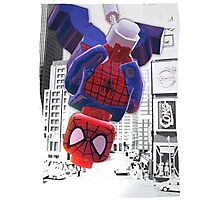Lego spiderman ... here I come! Photographic Print