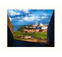 San Juan National Historic Site Art Print