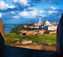 San Juan National Historic Site by Mike Pesseackey (crimsontideguy)
