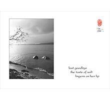 last goodbye Photographic Print