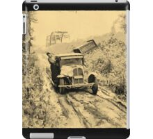 American Indians on way to the Berry Fields Little Fork, Minnesota, USA - all products iPad Case/Skin