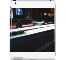 Browsing On The Bus iPad Case/Skin