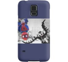 Lego Spiderman vs venom in the city Samsung Galaxy Case/Skin