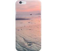 Sunset along the coast iPhone Case/Skin