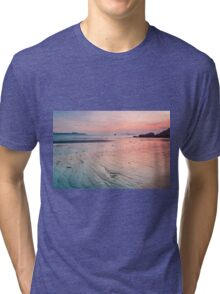 Sunset along the coast Tri-blend T-Shirt