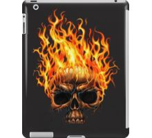 Burning Skull iPad Case/Skin