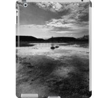 Greenham Common Missile Silos - Black and White iPad Case/Skin