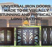 Residential Iron Doors by iwantthatdoor