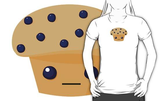 Blueberry Muffin by kieutiepie