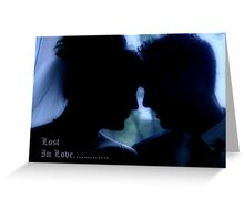 LOST.......... Greeting Card