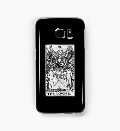 The Lovers Tarot Card - Major Arcana - fortune telling - occult Samsung Galaxy Case/Skin