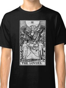 The Lovers Tarot Card - Major Arcana - fortune telling - occult Classic T-Shirt