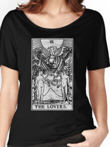 The Lovers Tarot Card - Major Arcana - fortune telling - occult Women's Relaxed Fit T-Shirt