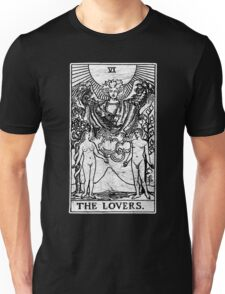 The Lovers Tarot Card - Major Arcana - fortune telling - occult Unisex T-Shirt