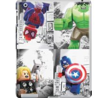 8 Lego Super Heroes! iPad Case/Skin