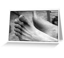 Graptus' Feet Greeting Card