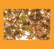 Under the Japanese Maple - Impressions Of Fall T-Shirt