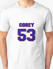 National football player Corey Jenkins jersey 53 T-Shirt