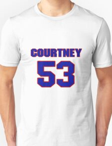 National football player Courtney Ledyard jersey 53 T-Shirt
