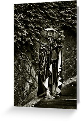 Darth Vader Lands in Gion by Charles McKean