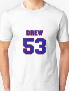 National football player Drew Mahalic jersey 53 T-Shirt
