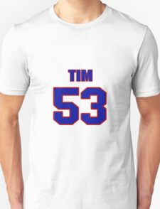 National football player Tim Meamber jersey 53 T-Shirt