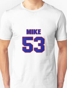 National football player Mike Mohamed jersey 53 T-Shirt