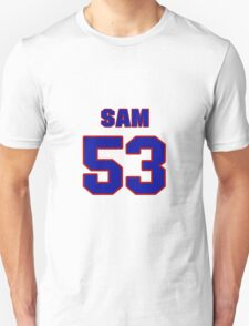 National football player Sam Palumbo jersey 53 T-Shirt