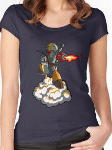Mega Fett Women's Fitted Scoop T-Shirt