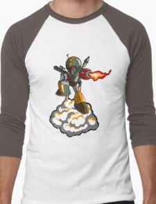 Mega Fett Men's Baseball ¾ T-Shirt