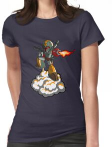 Mega Fett Womens Fitted T-Shirt