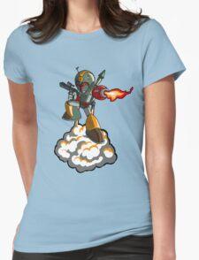 Mega Fett Womens Fitted T-Shirt