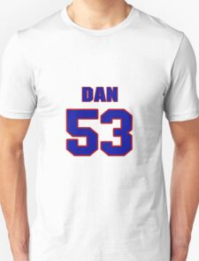 National football player Dan Peiffer jersey 53 T-Shirt