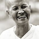 Buddhist Nun by Anthony Begovic