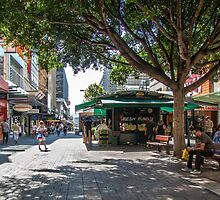 Rundle Mall - Looking East in the Rundle Mall by DPalmer