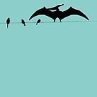 Bird on a wire expanded by Jayson Gaskell